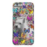 Violeta en mariposas - Westie blanco Dogcase