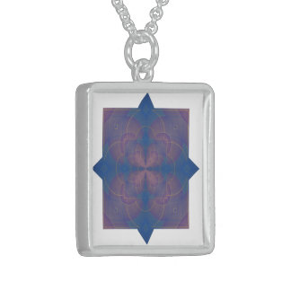 Violeta Mandala Art Necklace