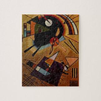Violeta negra de Kandinsky Puzzle