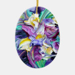violeta ornamento para reyes magos