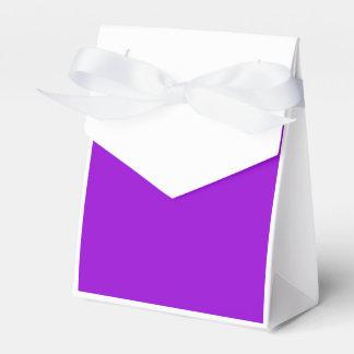 Violeta oscura caja para regalo de boda
