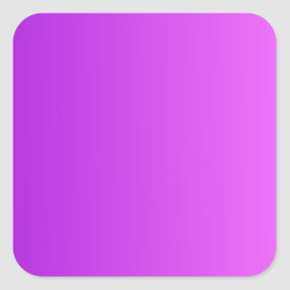 Violeta oscura ultra para picar pendiente vertical pegatina cuadrada