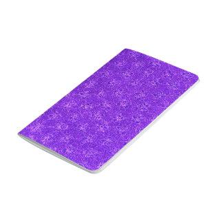 Violeta púrpura Amethyst floral de la uva del Cuaderno Grapado