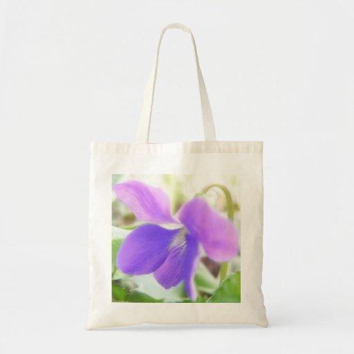 Violeta púrpura brillante bolsas