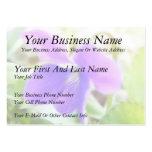 Violeta púrpura brillante tarjetas de visita grandes