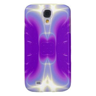 Violeta púrpura de las ONDAS LIGERAS Funda Para Galaxy S4