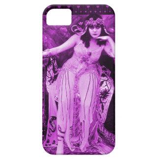 Violeta púrpura del caso del iPhone 5 de Theda Funda Para iPhone SE/5/5s