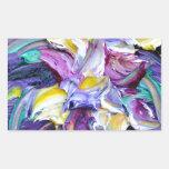 violeta rectangular altavoces
