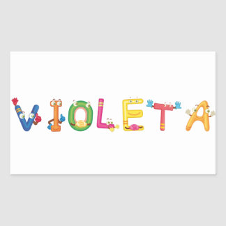 Violeta Sticker