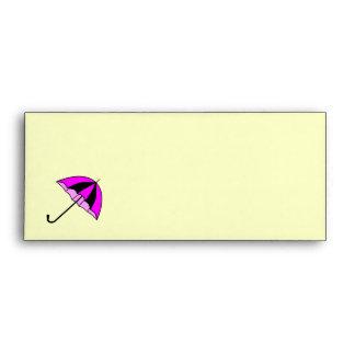 Violeta, subió, parapluie del enveloppe sobres