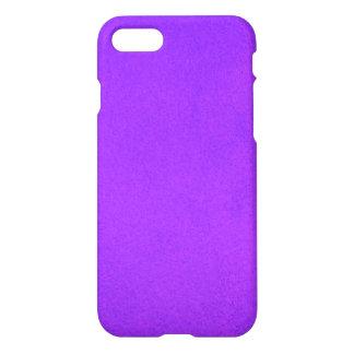 Violeta texturizada funda para iPhone 7