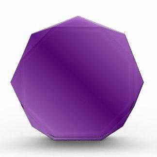 Violeta violeta y oscura de la Pendiente-Luz