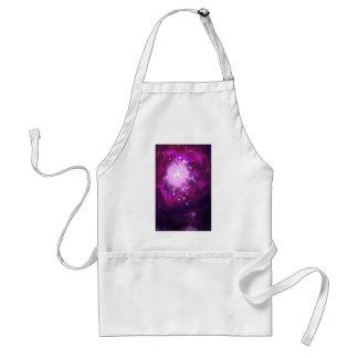 Violeta y nebulosa de Borgoña Delantales