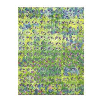 Violetas dulces 2012 impresión en lienzo