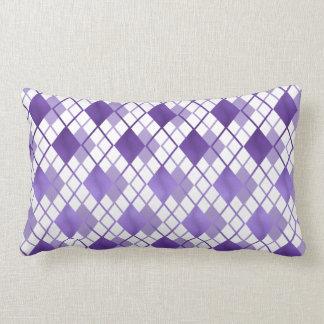 Violetes Karo sample Zierkissen Lumbar Pillow