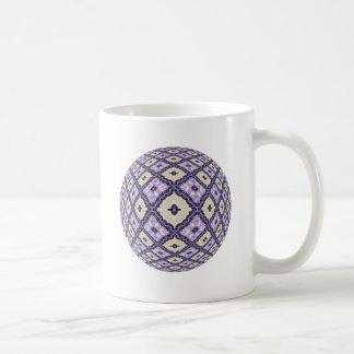 Violets and Cream Classic White Coffee Mug
