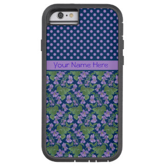 Violets and Polka Dots iPhone 6 case Xtreme Case