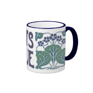 Violets Are Blue Ringer Mug