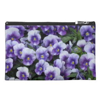 Violets cosmetics / accessories bag