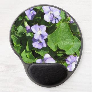 Violets Gel Mouse Pad