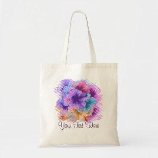 Violets Gone Wild Tote Bag