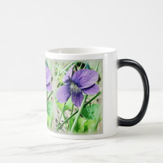 Violets Magic Mug