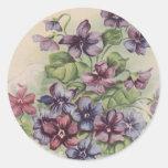 Violets - Sticker
