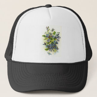 violets trucker hat