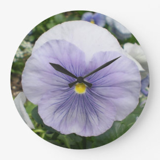 Violets~ Wall Clock