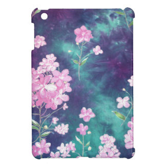 violets with sky fund case for the iPad mini