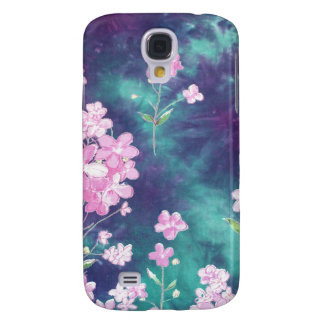 violets with sky fund samsung s4 case