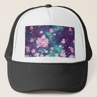 violets with sky fund trucker hat