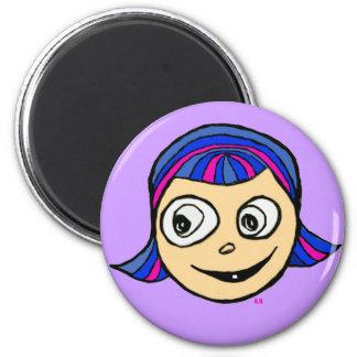 Violetta 2 Inch Round Magnet