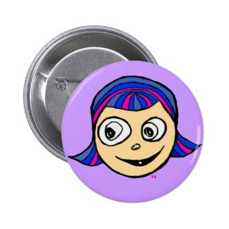 Violetta Pinback Button