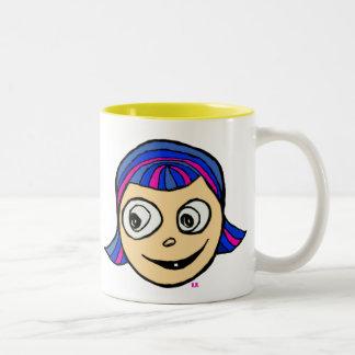 Violetta Two-Tone Coffee Mug