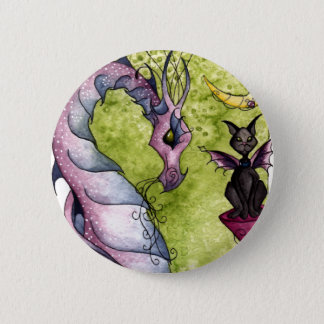 Violette and Obsidian Button