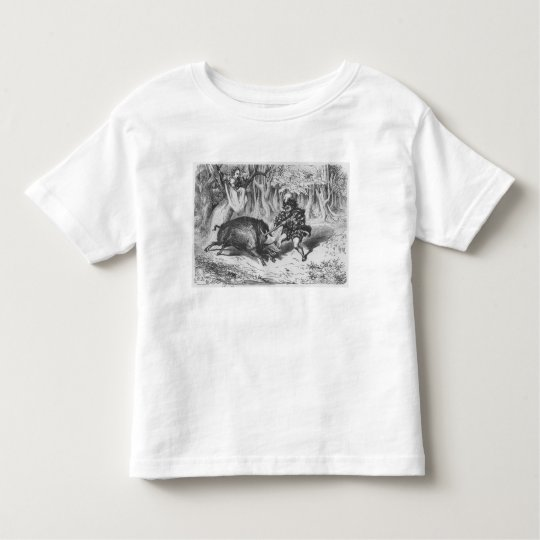 Violette and Ourson Toddler T-shirt