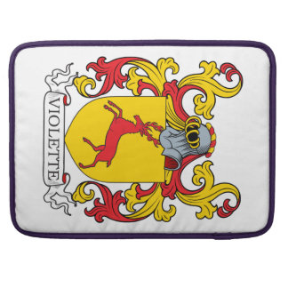 Violette Coat of Arms Sleeve For MacBooks