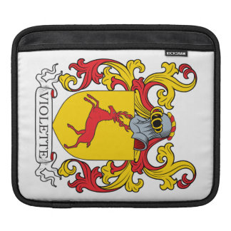 Violette Coat of Arms Sleeves For iPads