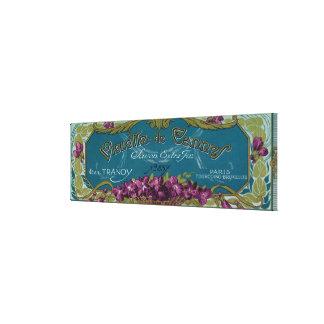 Violette De Cannes Soap LabelParis, France Canvas Print