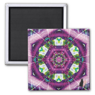 Violette Kaleidoscope Magnet