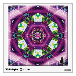 Violette Kaleidoscope Wall Sticker