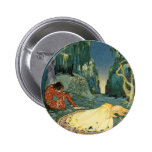 Violette sleeping in the forest pins