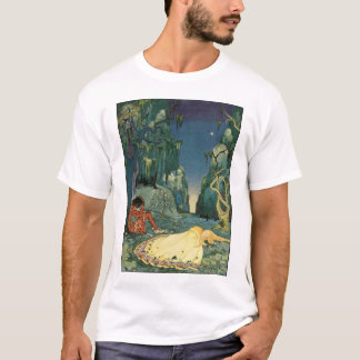 Violette sleeping in the forest T-Shirt