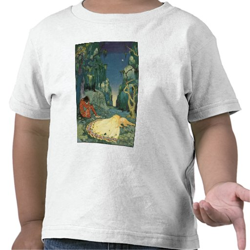 Violette sleeping in the forest t shirts