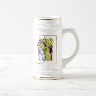 Violette y taza de la obsidiana