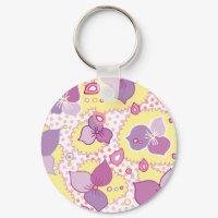Violettes Keychain keychain