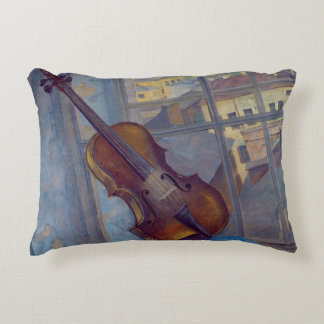 Violin, 1918 decorative pillow