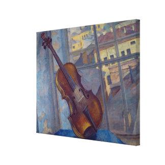 Violin, 1918 impresión en tela