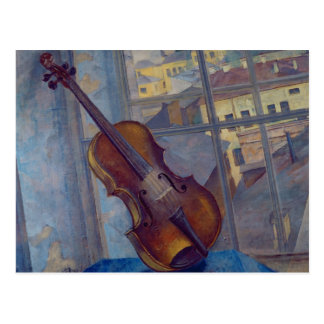 Violin, 1918 post cards